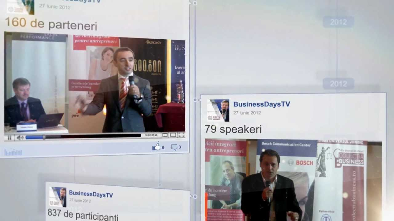 This is Business Days - tv.businessdays.ro
