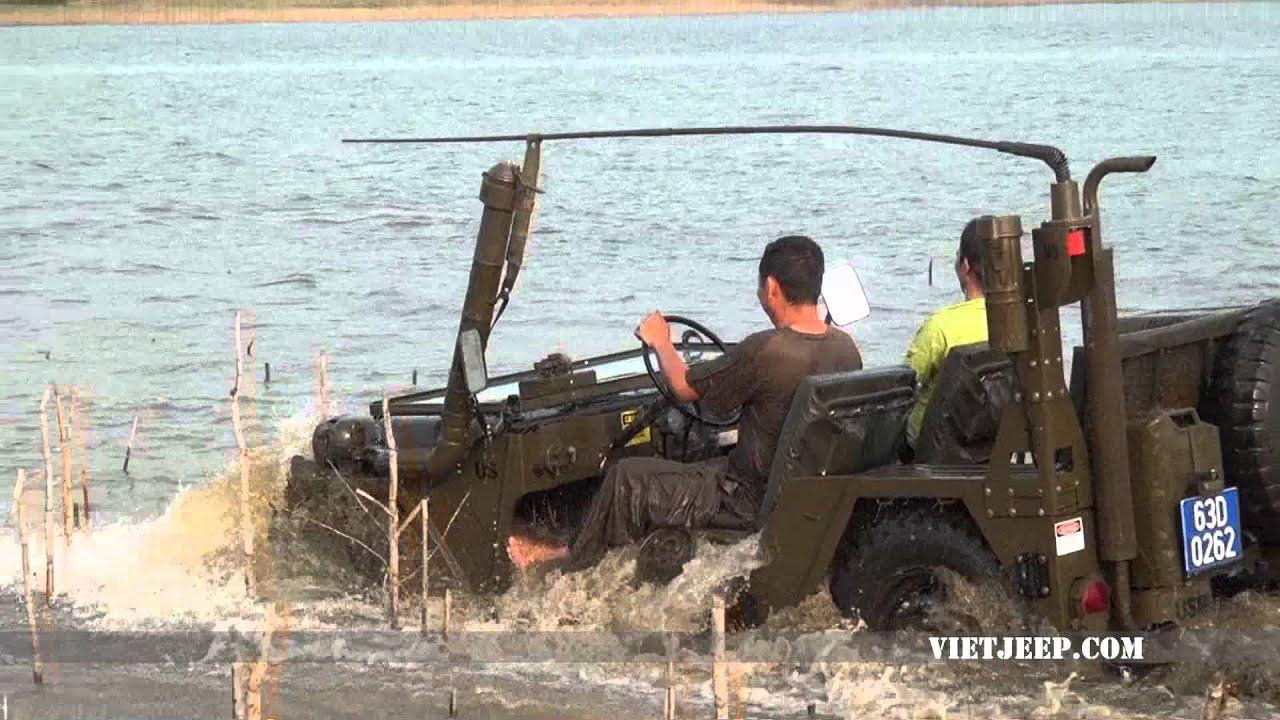 Viet Jeep Mutt M151 A2 Diving Youtube
