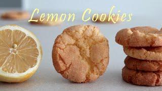 [ENG] 레몬 덕후가 사랑하는 상큼발랄 레몬 쿠키 L…