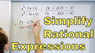 06 - Simplifying Ratİonal Expressions in Algebra, Part 1