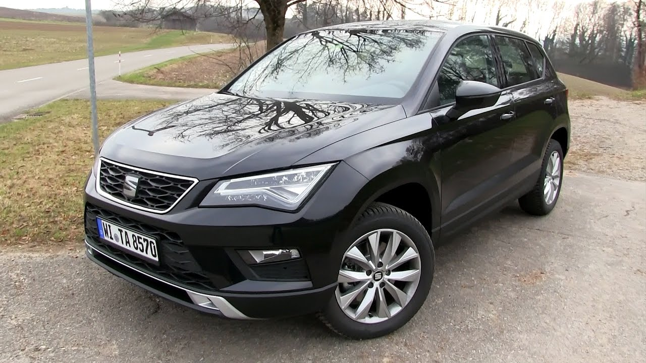 2016 seat ateca 1 4 ecotsi 150 hp test drive youtube. Black Bedroom Furniture Sets. Home Design Ideas