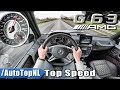 Mercedes G63 AMG AUTOBAHN POV | ACCELERATION & TOP SPEED by AutoTopNL