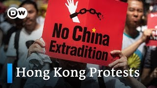 Hong Kong protests against extradition law | DW News