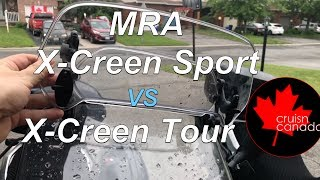 MRA X-Creen Sport vs X-Creen Tour