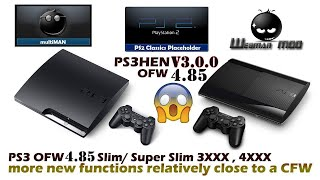 [UPDATE] PS3HEN v2.3.1 Fixed blackscreen crashes Add support for webman & PS2 Classics Launcher