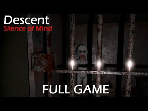 Descent - Silence of Mind Full Game & ENDING Walkthrough Gameplay (Horror game)