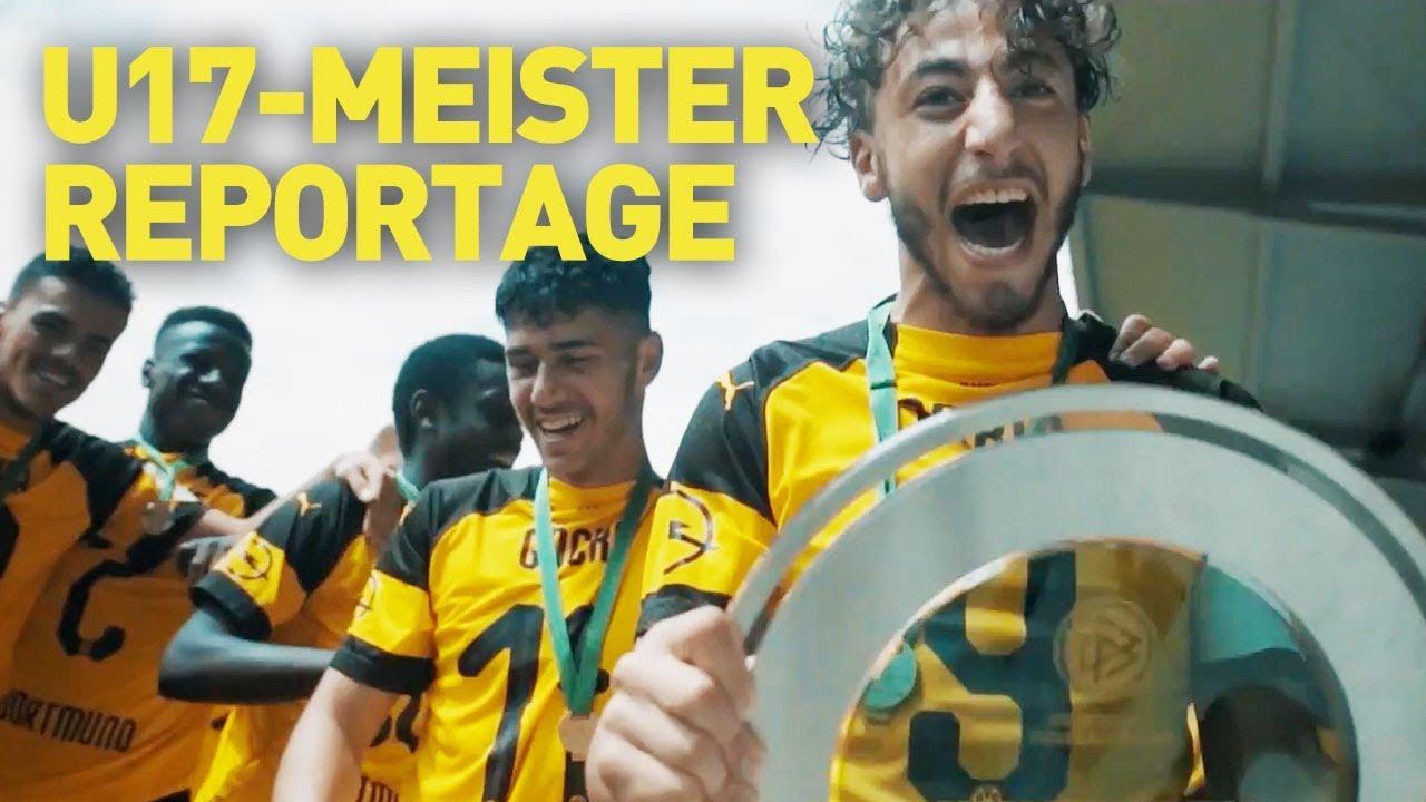 Mehr als ein Team: Die U17-Meister-Reportage