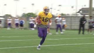 Raw Highlights: LSU Spring Football Practice 3.16.17