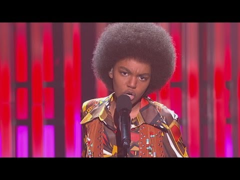China Anne McClain as Michael Jackson on SING YOUR FACE OFF - Exclusive