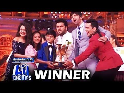 Shreyan Bhattacharya And Anjali Gaikwad - Sa Re Ga Ma Pa Li'l Champs Winners 2017