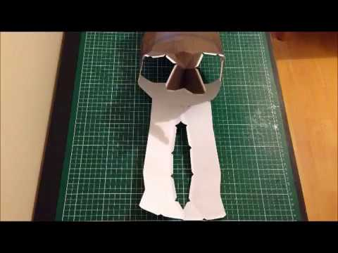 Papercraft STAR WARS  YODA STOP MOTION PAPERCRAFT - SCOUZY
