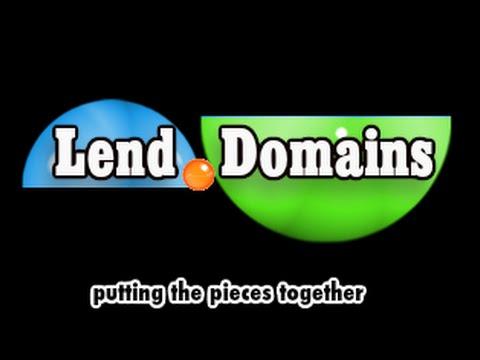 Lending Money On Domains