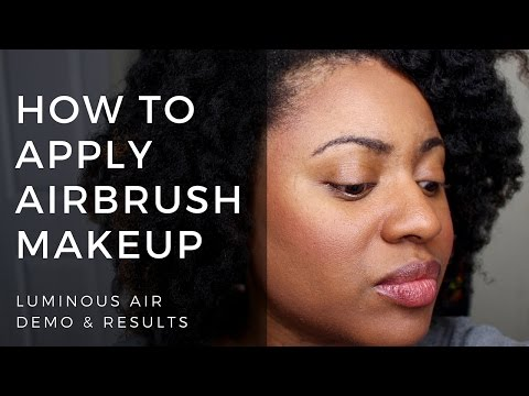 How to Apply Airbrush Makeup | Luminess Air