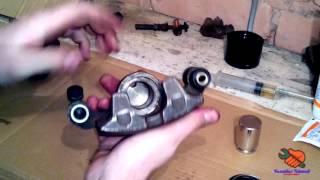 сборка тормозного суппорта / задние дисковые тормоза / тормоза TOYOTA CORONA ST 190 (CARINA E)