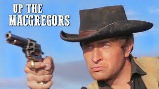 Up the MacGregors   SPAGHETTI WESTERN   Full Length Movie   Cowboy Film   Free Western Movie