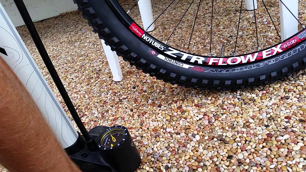 275plus Tubeless Tire Setup Specialized Purgatory 6fattie Tire