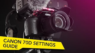 Best Canon 70D Video Settings for Film(Store: http://www.creatrix-visuals.com/ Support us on Patreon (+Rewards): https://www.patreon.com/CreatrixVisuals?ty=h Twitter: ..., 2016-02-16T23:27:38.000Z)