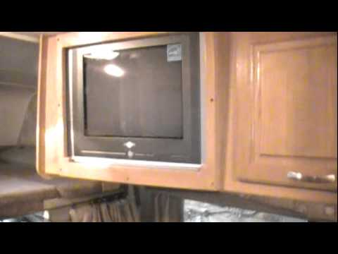 Rv Flat Screen Tv Installation Youtube