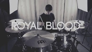 "Chris Kamrada - Royal Blood - ""Out Of The Black"" (DRUM COVER)"