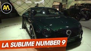Bentley dévoile la sublime Continental GT Number 9 Edition - Le JT de la semaine