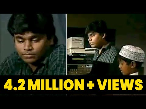 Unseen Videos of #ARRahman Composing with #GVPrakash | A R Rahman Song Recording Studio | IBC Tamil