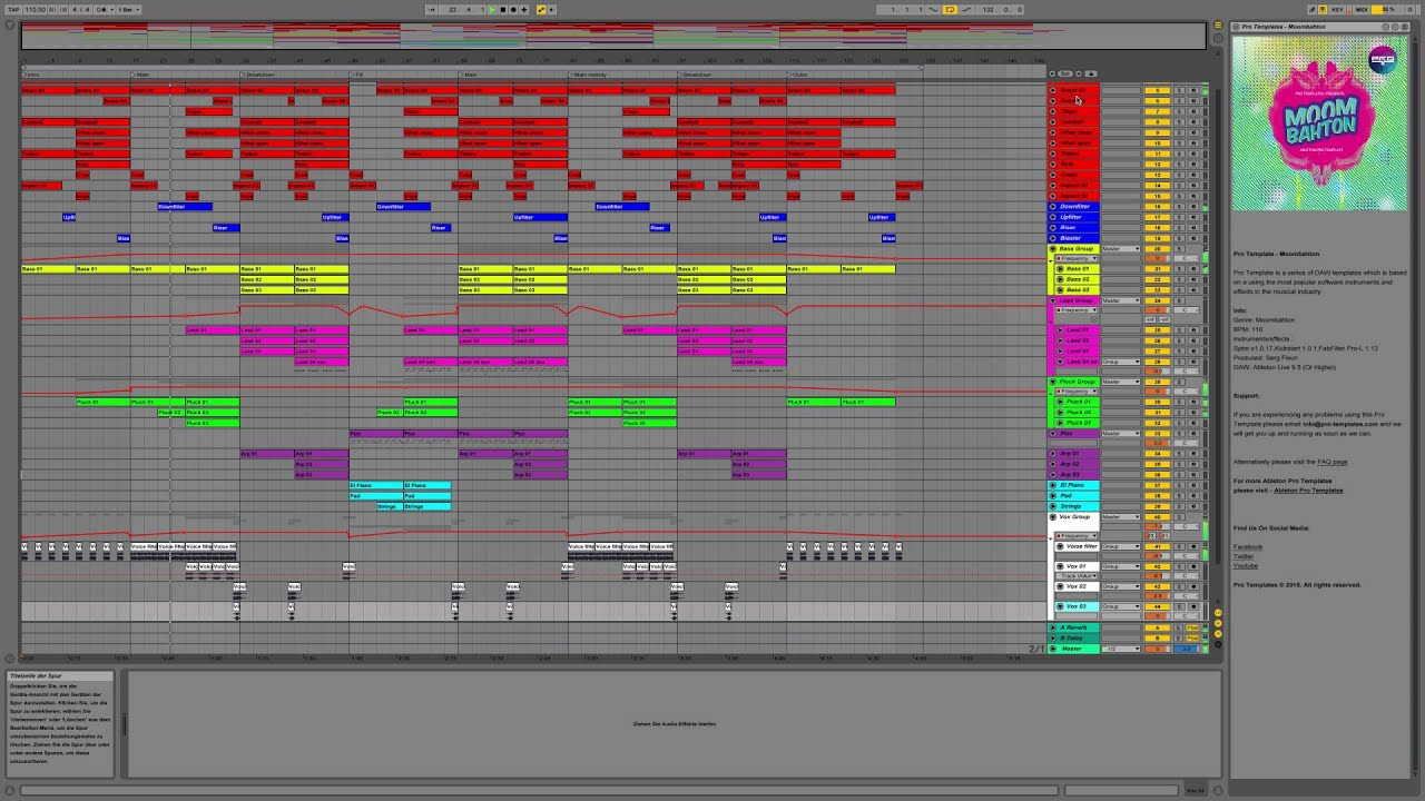 how to make moombahton ableton