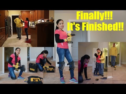 American Filipina Life In America   The Fourth Day  Working In Our New House   Finally We Finished I