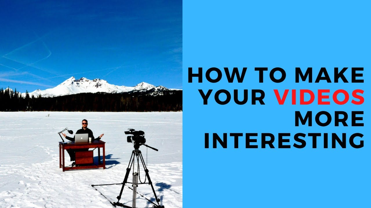 10 Unique Video Ideas for Beginners (You can do these from home!)