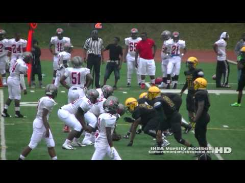 * Al Raby Raiders@Westinghouse Warriors Football (8-29-15) Raw2 (IHSA Varsity Sports)