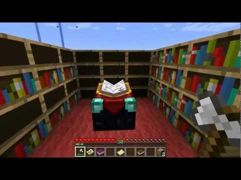 Smart Bookshelf Minecraft Mod Youtube