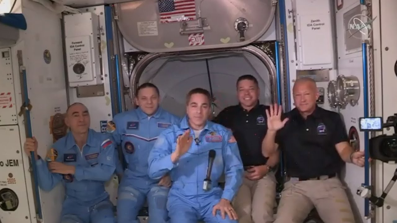 They Made it: NASA Shares Update Following #LaunchAmerica Arrival at the International Space Station