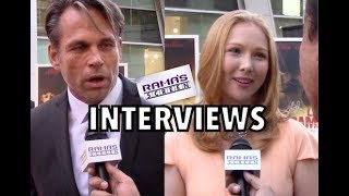 My 'LAST RAMPAGE' Interviews with Chris Browning and Molly Quinn