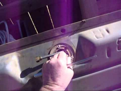hqdefault gas tank sender unit removal youtube 2000 Mercury Mystique Fuel Pump Wiring Harness at readyjetset.co