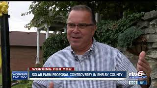 Shelby County residents concerned over proposed solar farm