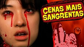 12 CENAS MAIS SANGRENTAS DO CINEMA!