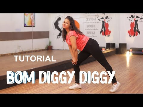 Bom Diggy -Zack Knight x Jasmin Walia | Dance Tutorial | Aditi | Dancercise