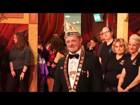 Singender Elferratspräsident Norbert 2020