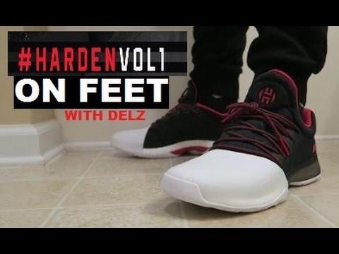 adidas james harden vol 1 sneaker auf füße unboxing hardenvol1 youtube
