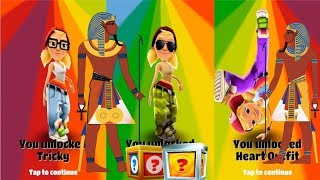 SUBWAY SURFERS CAIRO WORLD TOUR 2018 TRICKY CAMO OUTFIT GAME PLAY ON PC | App Games