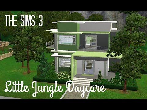 Sims 3 Community Lot Build - Little Jungle Daycare