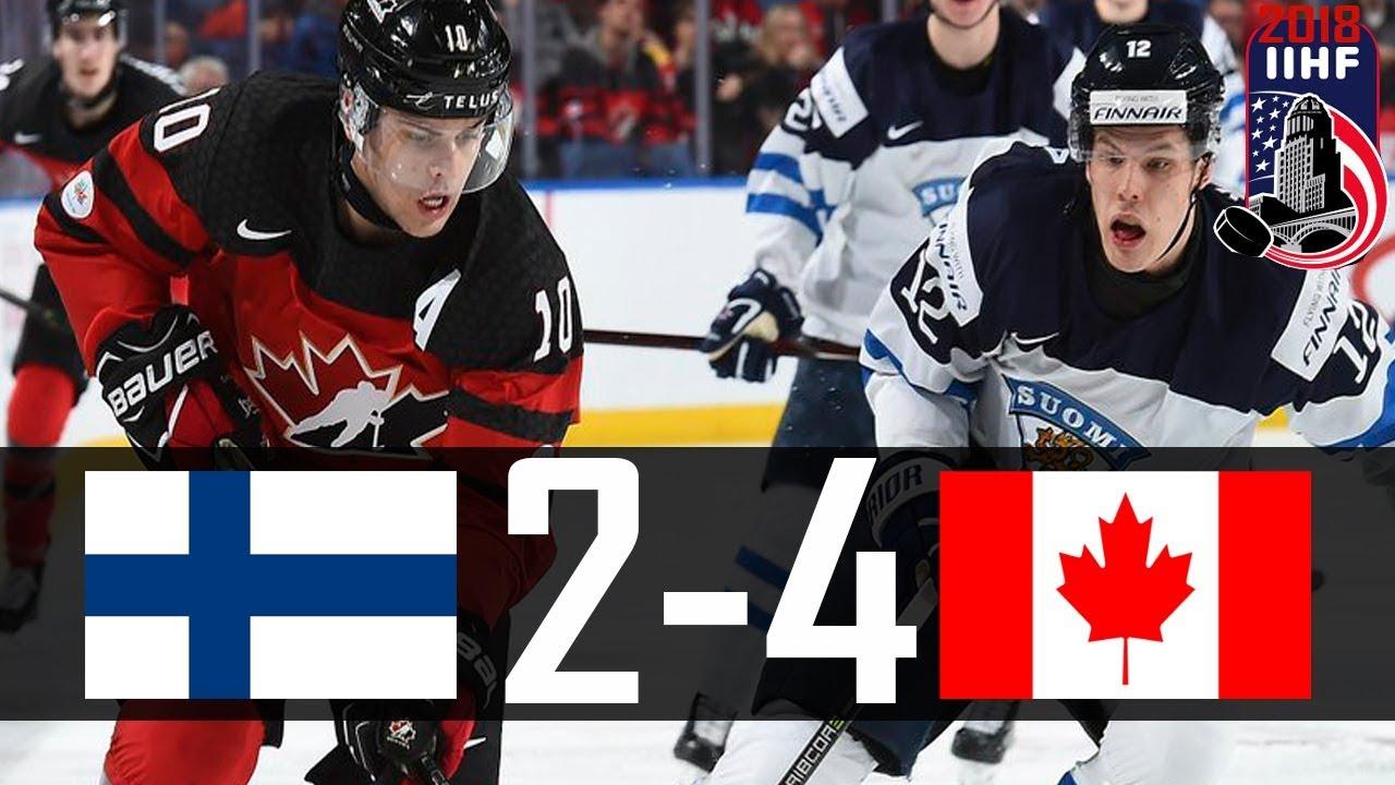 Canada vs Finland | 2018 WJC Highlights | Dec. 26 , 2017