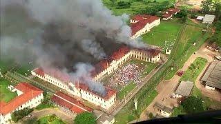 فيديو.. تمرد داخل سجون البرازيل وفرار 60 سجين من بارو