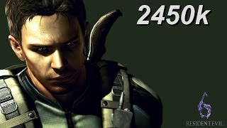 Resident Evil 6 PS4 NO MERCY Mining the Depths 2450k Chris 60fps