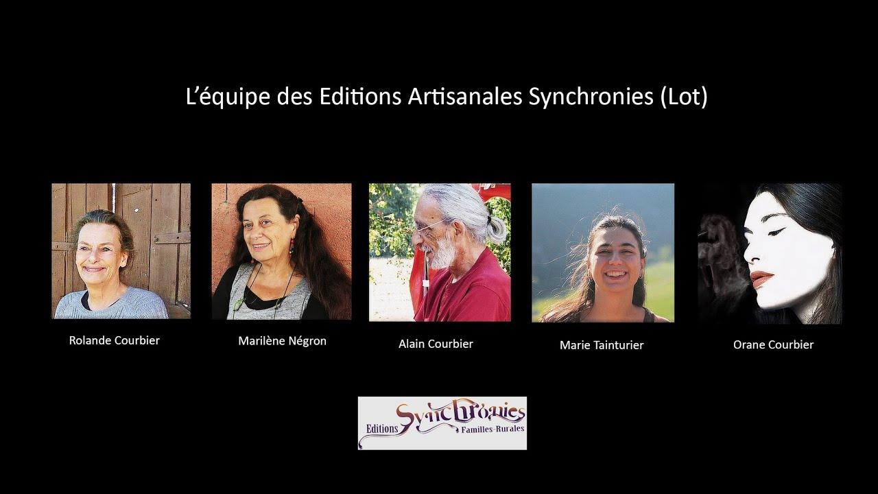 Lot en Occitanie - Bonne rentrée Littéraire 2021-2022 par les Editions Associatives Synchronies