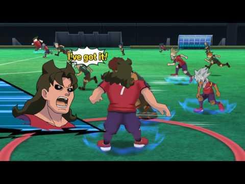 Inazuma Eleven GO Strikers 2013 New Royal Academy vs Ogre Wii
