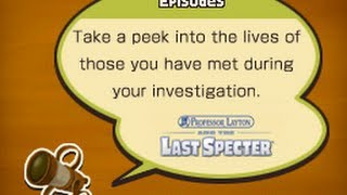 Professor Layton and the Last Specter - All Episodes