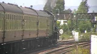 6024 King Edward 1st Departs Taunton On The Torbay Express