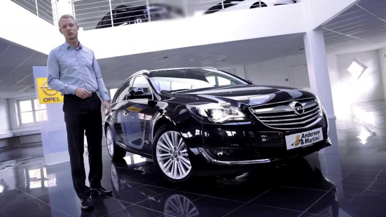 Ny lækker Opel Insignia hos Andersen & Martini