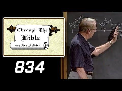 [ 834 ] Les Feldick [ Book 70 - Lesson 2 - Part 2 ] Adulterous Israel to be Restored: Hosea 2-4 |b