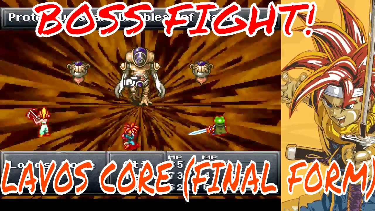 BOSS FIGHT! Chrono Trigger - Lavos Core (Final Form) + Ending ...